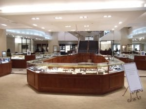Radcliffe Jewelers retail jewelry displays