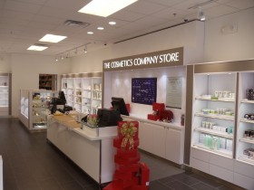 Cosmetic Company Store fixtures