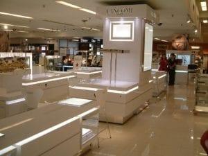 Lancome displays