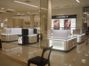 Lancome display fixtures