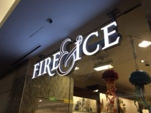 Fire & Ice retail storefront