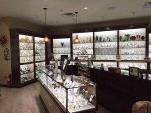 Fire & Ice jewelry display cases