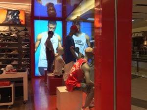 DTLR store display