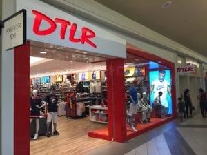 DTLR store window