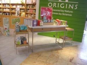 Macy's Origins display