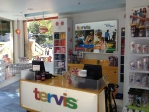 Tervis retail checkout