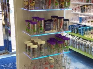 Tervis cup display